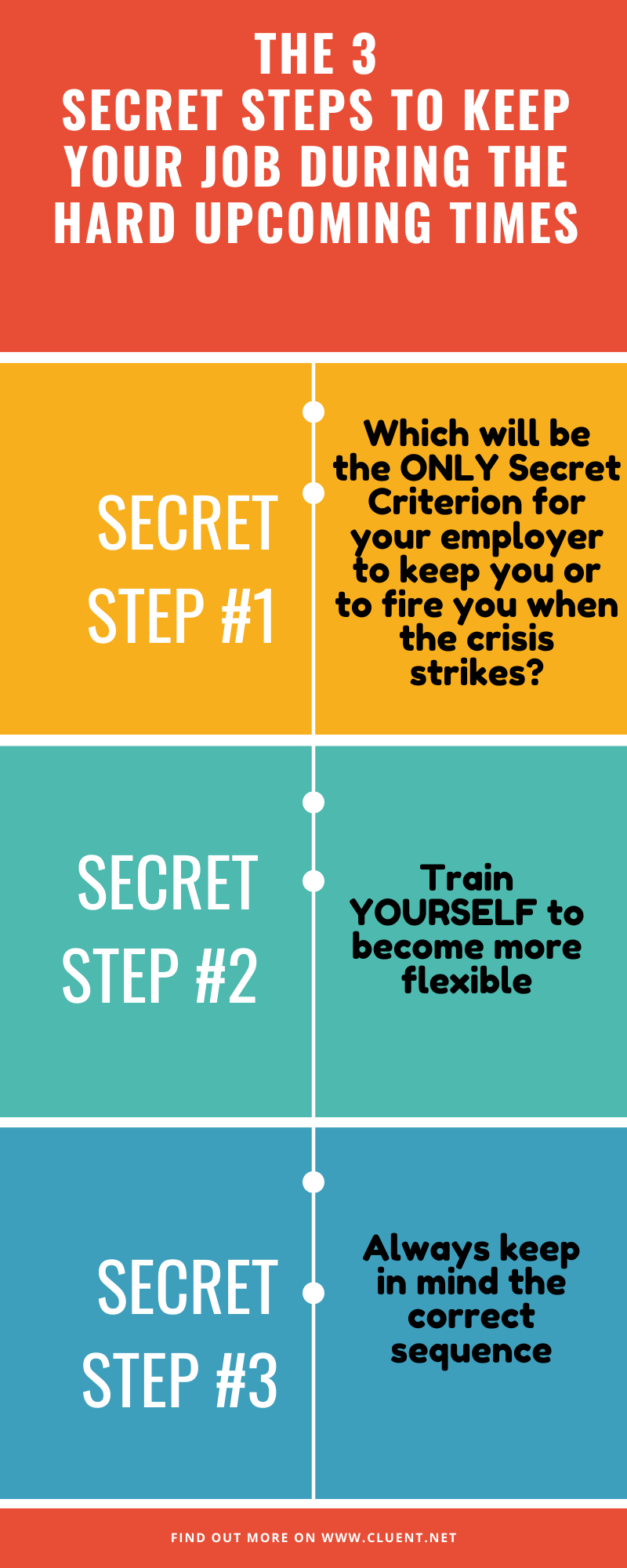 3 secrets to keep your job