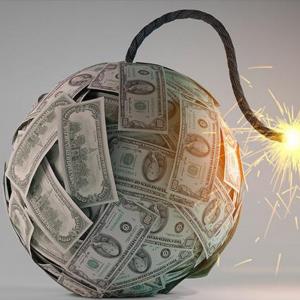 cash during financial downturn